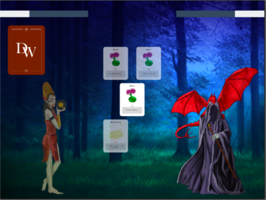 Duel of wizards screenshot